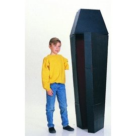 Rubies Costume Company 6 Foot Corrugated Coffin