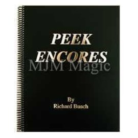 Richard Busch Book - Peek Encores by Richard Busch (M7)