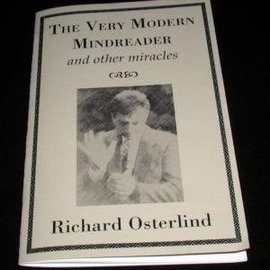 Murphy's Magic Book - The Very Modern Mindreader and Other Miracles by Richard Osterlind (M7)