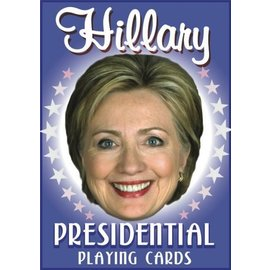 Parody Productions LLC Hillary Presidential Playing Cards