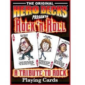 Parody Productions LLC Hero Decks: Rock 'n Roll Playing Cards
