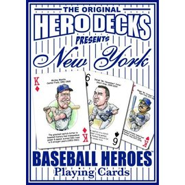 Parody Productions LLC Hero Decks: New York Yankees Baseball Playing Cards