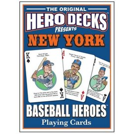 Parody Productions LLC Hero Decks: New York Mets Baseball Playing Cards