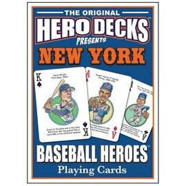 Parody Productions LLC Hero Decks: New York Mets Baseball Playing Cards