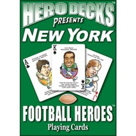 Parody Productions LLC Hero Decks: New York Jets Football Playing Cards