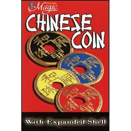 Royal Magic Expanded Chinese Shell w/Coin (RED) - Trick