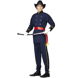 RG Costumes And Accessories Union Officer - Adult Standard 36-40
