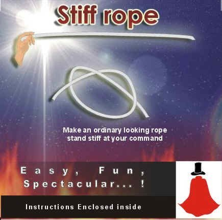 how to make rope stiff