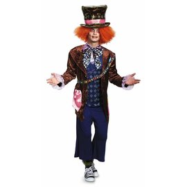 Disguise Mad Hatter Deluxe - Adult XL 42-46