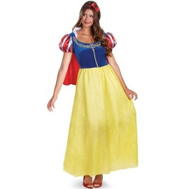 Disguise Snow White Deluxe - Adult Size 12-14