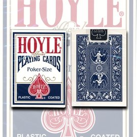 United States Playing Card Company Hoyle Poker Card Deck -  Blue by USPCC