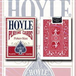 United States Playing Card Company Hoyle Poker Card Deck -  Red by USPCC