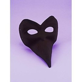 Forum Novelties Mask Long Nose - Black
