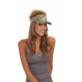 Forum Novelties Camo Hair Visor