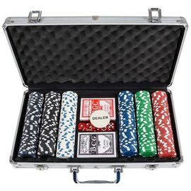 rhode island novelty Poker Set - 300 Chips
