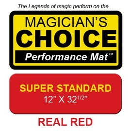 Ronjo Super Standard Close-Up Mat Red (Thick) Performance
