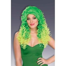 Forum Novelties 80's Pop Glam Wig - Green