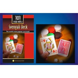 Trickmaster Magic Svengali Deck w/Book Kit - Bicycle Poker
