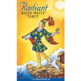 U.S. Games Radiant Rider-Waite Tarot Tin