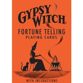 U.S. Games Gypsy Witch Tarot (Fortune Telling Playing Cards)