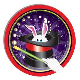 "Forum Novelties Magic Rabbit 7"" Desert Plates, 8 pcs"