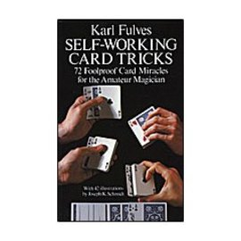 Dover Publications Self Working Card Tricks by Karl Fulves - Book
