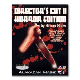 Alakazam Magic UK Director's Cut 2 Horror Edition  w/DVD by Simon Shaw and