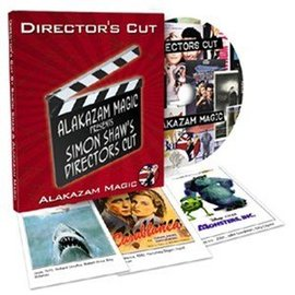 Alakazam Magic UK Director's Cut w/DVD by Simon Shaw (M10)