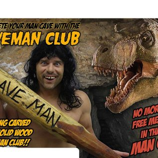 Billy Bob Products Caveman Club - Real