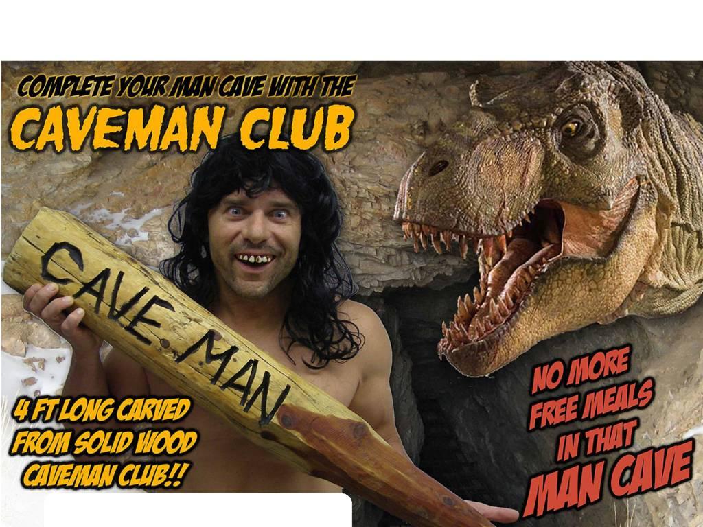 Caveman Phone : Cave man club ronjo magic costumes and party shop