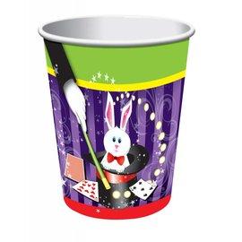Forum Novelties Magic Rabbit 9 oz. Paper Cups, 8 pcs