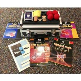 Ronjo Executive Magic Set - 195 Tricks w/case, mat and books