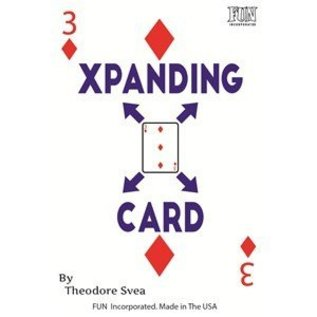 Fun inc. XPanding Card by Theodore Svea (M10)