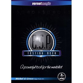 Vernet ESP Testing Deck (marked w/routines) by Vernet (M10)