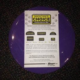 Ronjo Round Close-Up Mat 12 inch - Lilac Performance