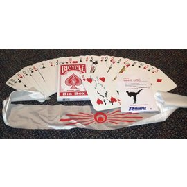 Ronjo Karate Cards, Jumbo Bic - Card (M8)