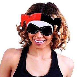 Sun-Staches Harley Quinn Face Sunstaches