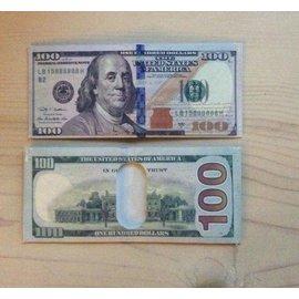 China 100 Dollar Bill Bi-Fold Wallet