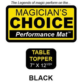 Ronjo Table Topper Close-Up Mat Black Performance