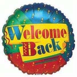 """Betallic Inc. Welcome Back Balloon 18"""""""