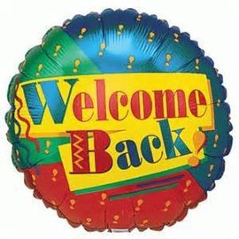 Betallic Inc. Welcome Back Foil Balloon 18""