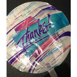 Betallic Inc. Thanks Foil Balloon 18""