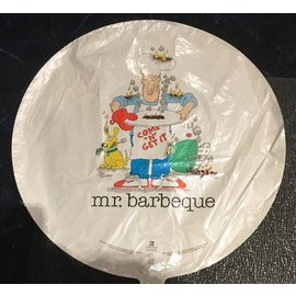 Mr. Barbeque Foil Balloon 18""