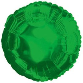 Metallic Green Round Foil Balloon 32""