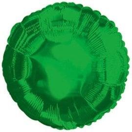 """Metallic Green Round Foil Balloon 32"""""""