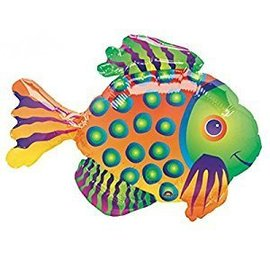 "Anagram Tropical Fish Super Shape Foil Balloon 33"" x 23"""