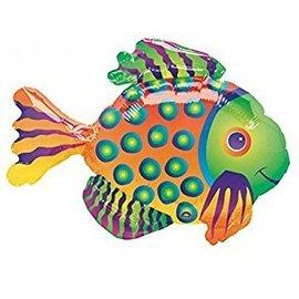 """Anagram Tropical Fish Super Shape Foil Balloon 33"""" x 23"""""""