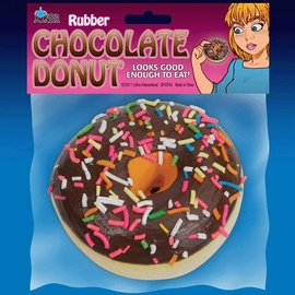 Joker Rubber Chocolate Donut
