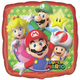 """Anagram Super Mario Bros Balloon 18"""""""