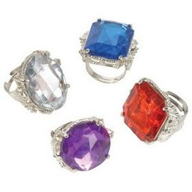 Rinco Jumbo Bling Ring - Fashion Ring, Assorted